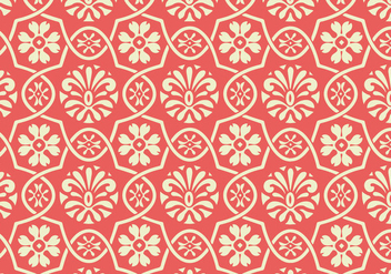 Floral Vector Pattern - Free vector #362611