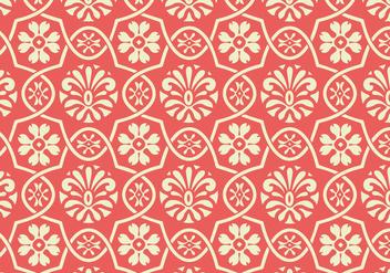 Floral Vector Pattern - Kostenloses vector #362611