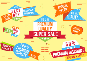 Free Super Sale Banner Vector - бесплатный vector #362621