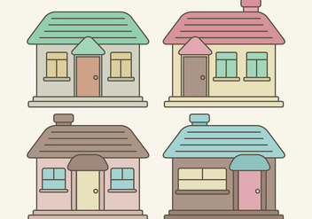 Vector Houses - Free vector #363351