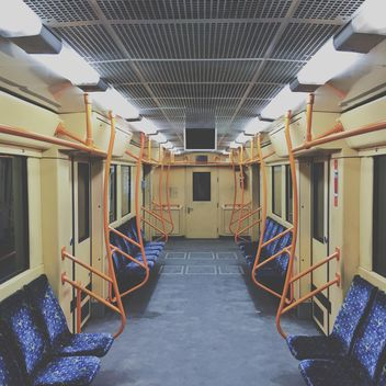 Empty subway car - image gratuit #363701
