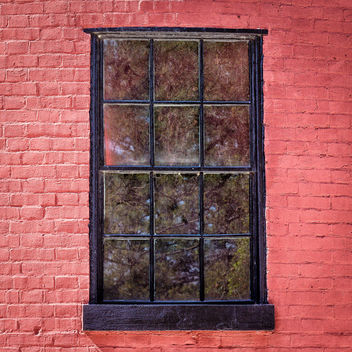 Lighthouse Window Chincoteague - image gratuit #363781