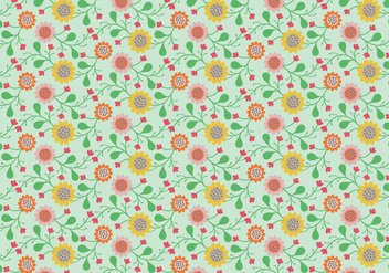 Floral Pastel Pattern - Kostenloses vector #363821