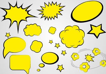 Free Comics Speech Vector - Free vector #364131