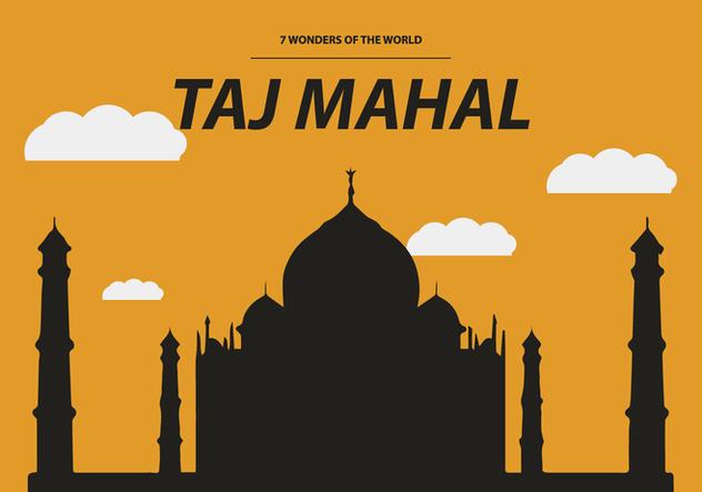 FREE TAJ MAHAL VECTOR - Free vector #364191