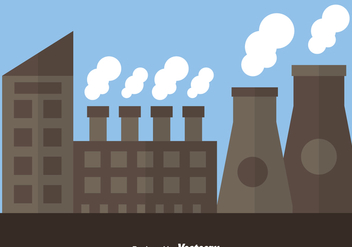 Nuclear Reactor Factory - vector #364201 gratis