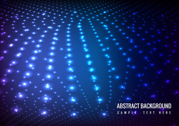 Vector Glowing Lights Background - Kostenloses vector #364631