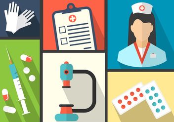 Medical Vector Icons - Free vector #364861