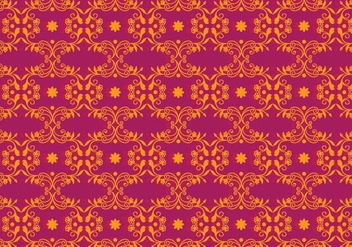 Free Vector Magenta Floral Background - Free vector #364901