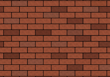 Free Brown Brick Wall Vector - Kostenloses vector #365651