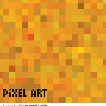 Abstract pixel background - Free vector #365991