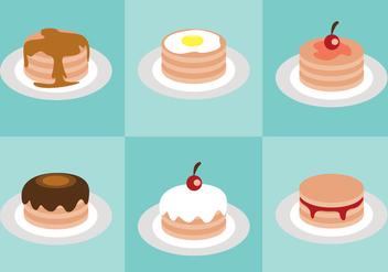 Pancake Vector - Kostenloses vector #366851