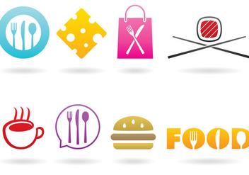 Food Brand Vectors - Kostenloses vector #367121