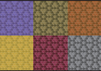 Rainbow Snake Skin Patterns - vector gratuit #367171