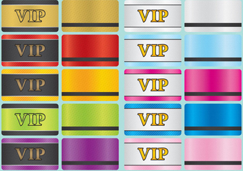 VIP Cards - Free vector #367311