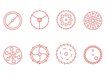 Free Clock Parts Vector Graphic 3 - бесплатный vector #367711