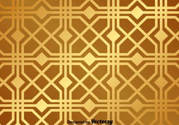Golden Vector Pattern - Free vector #367821