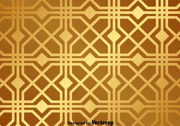 Golden Vector Pattern - Kostenloses vector #367821