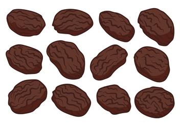 Free Raisins Vector - vector gratuit #368591