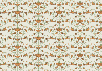 Flower Pattern Background - Free vector #369121