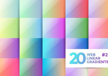 Web Linear Gradients 2 - Kostenloses vector #369251