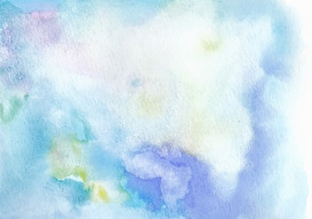 Light Blue Free Vector Watercolor Texture - Kostenloses vector #369441