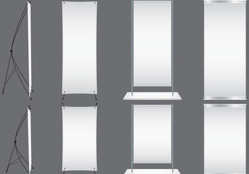 Blank Kakemonos - Kostenloses vector #369971