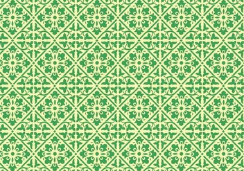 Traditional Damask Pattern - vector gratuit #369981
