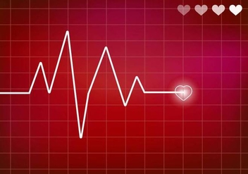 Heart Monitor Vector. Ekg. - бесплатный vector #370141
