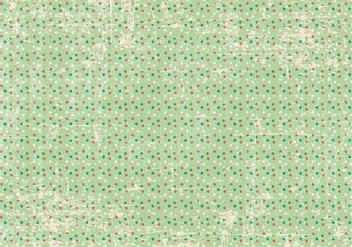 Grunge Polka Dot Background - vector gratuit #370491