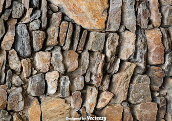 Vector Realistic Stonewall Texture - Free vector #370561