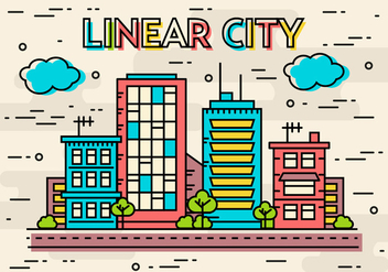 Free Flat Linear Design Vector Image Concept - Free vector #370811