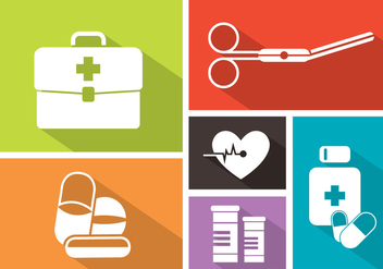 Medical Vector Icons - Free vector #370951