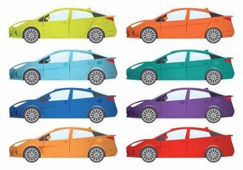 Prius Set - Kostenloses vector #371721