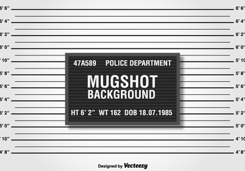Police Lineup Or Mugshot Background - vector gratuit #371751