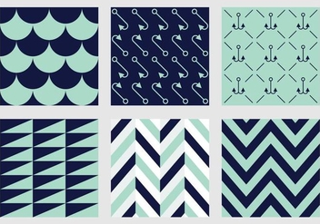 Free Marine Vector Patterns 1 - бесплатный vector #372151