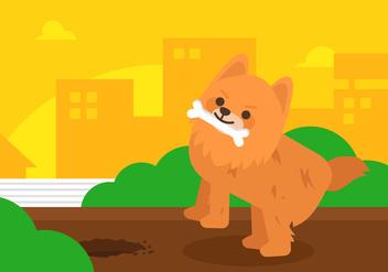 Vector Pomeranian - vector #372591 gratis
