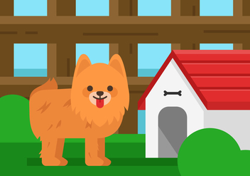 Vector Pomeranian - vector #372621 gratis