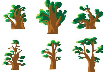 Baobab Vector - vector #372641 gratis