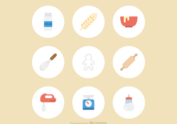 Free Baking Vector Icons - бесплатный vector #372671