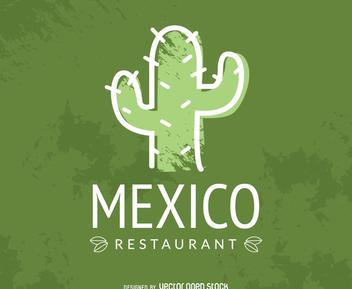Mexican restaurant logo - Free vector #373071