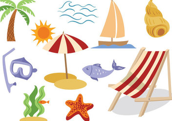 Free Seaside Vectors - vector gratuit #373351