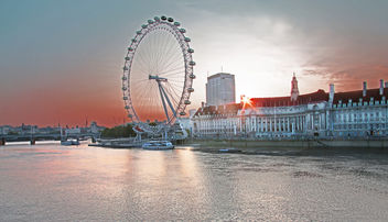 London Eye - Kostenloses image #373521