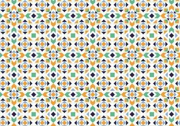 Abstract Mosaic Pattern - Free vector #373581