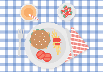 Food for Kids - vector gratuit #373841