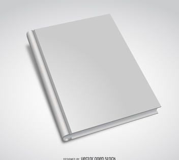 Book cover mockup - Free vector #373971