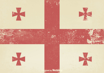 Old Medieval Flag - vector gratuit #374341