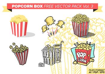 Popcorn Box Free Vector Pack Vol. 3 - Kostenloses vector #374351