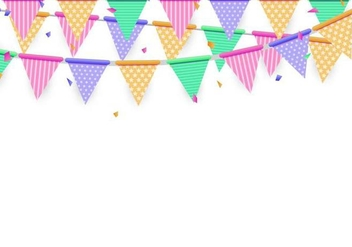 Anniversary Background Vector - vector gratuit #374551