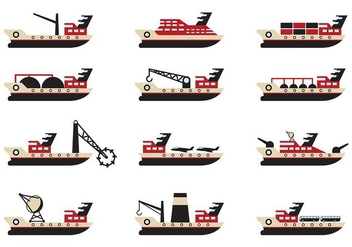 Tugboat Vector - Free vector #374631